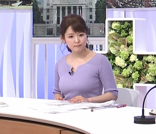 諸國沙代子アナ 巨乳のエロニット、むにゅ動画(元ミス東大)キャプ・エロ画像11