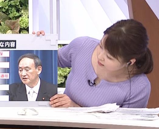 諸國沙代子アナ 巨乳のエロニット、むにゅ動画(元ミス東大)キャプ・エロ画像5