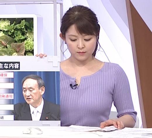 諸國沙代子アナ 巨乳のエロニット、むにゅ動画(元ミス東大)キャプ・エロ画像6