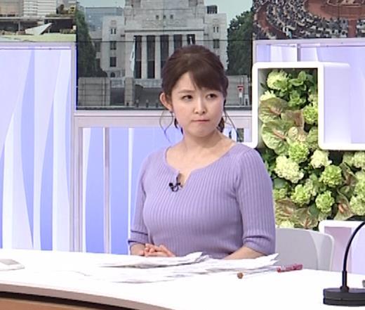 諸國沙代子アナ 巨乳のエロニット、むにゅ動画(元ミス東大)キャプ・エロ画像8