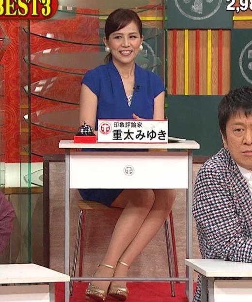 重太みゆき ミニスカ美脚キャプ画像(エロ・アイコラ画像)