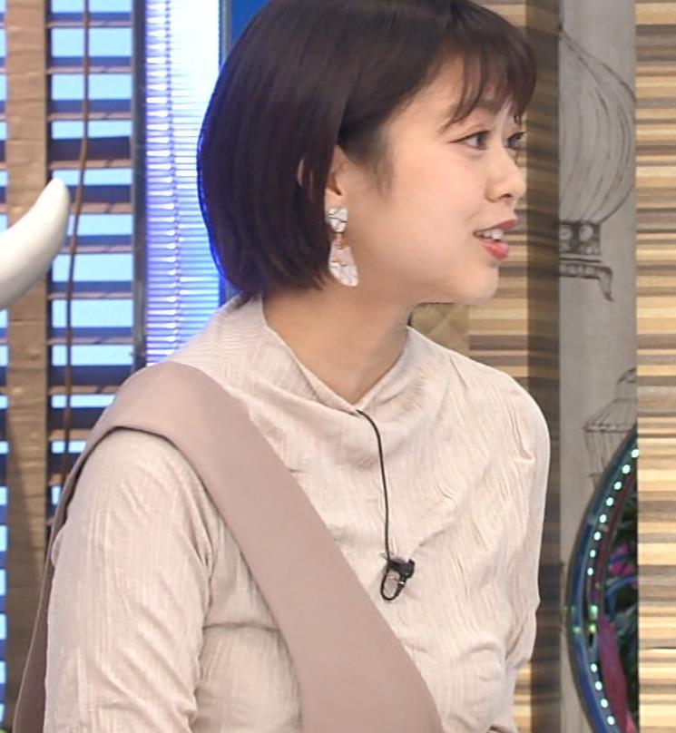 杉原千尋アナ 巨乳だとわかる衣装キャプ・エロ画像5