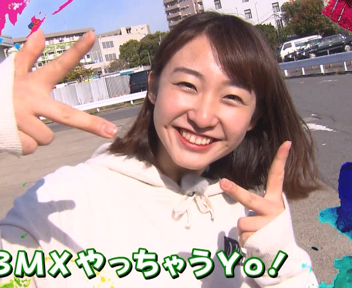 杉原凜アナ Oha!4 NEWS LIVEキャプ・エロ画像2