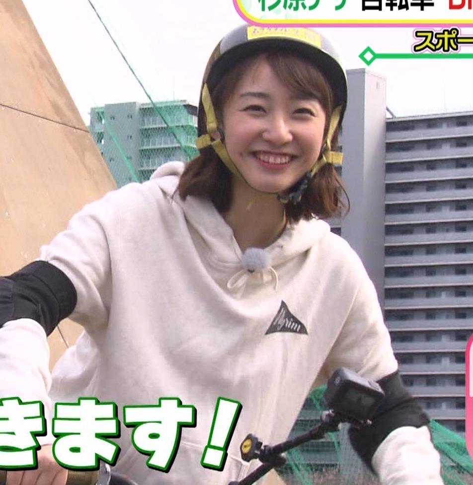 杉原凜アナ Oha!4 NEWS LIVEキャプ・エロ画像8