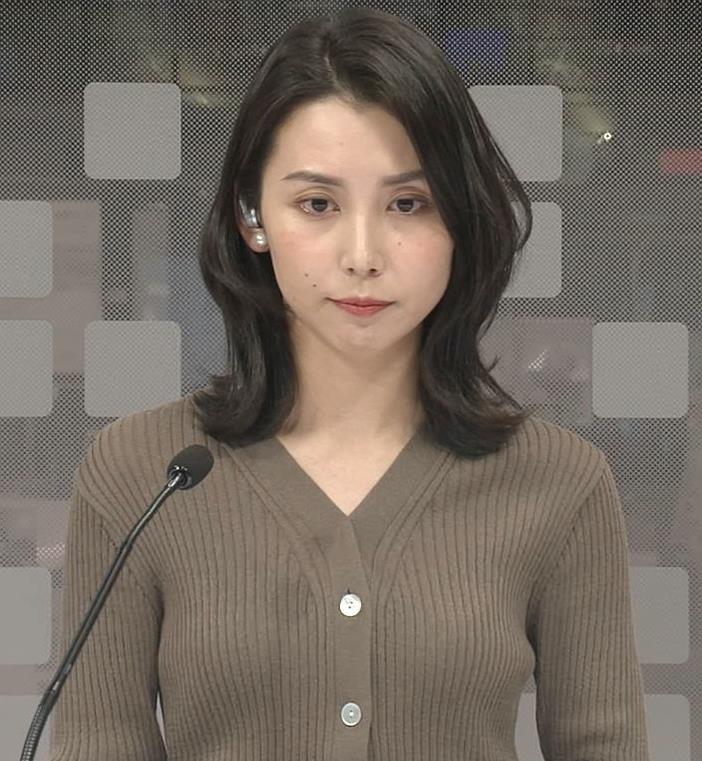 杉野真実アナ ニットおっぱいキャプ・エロ画像3