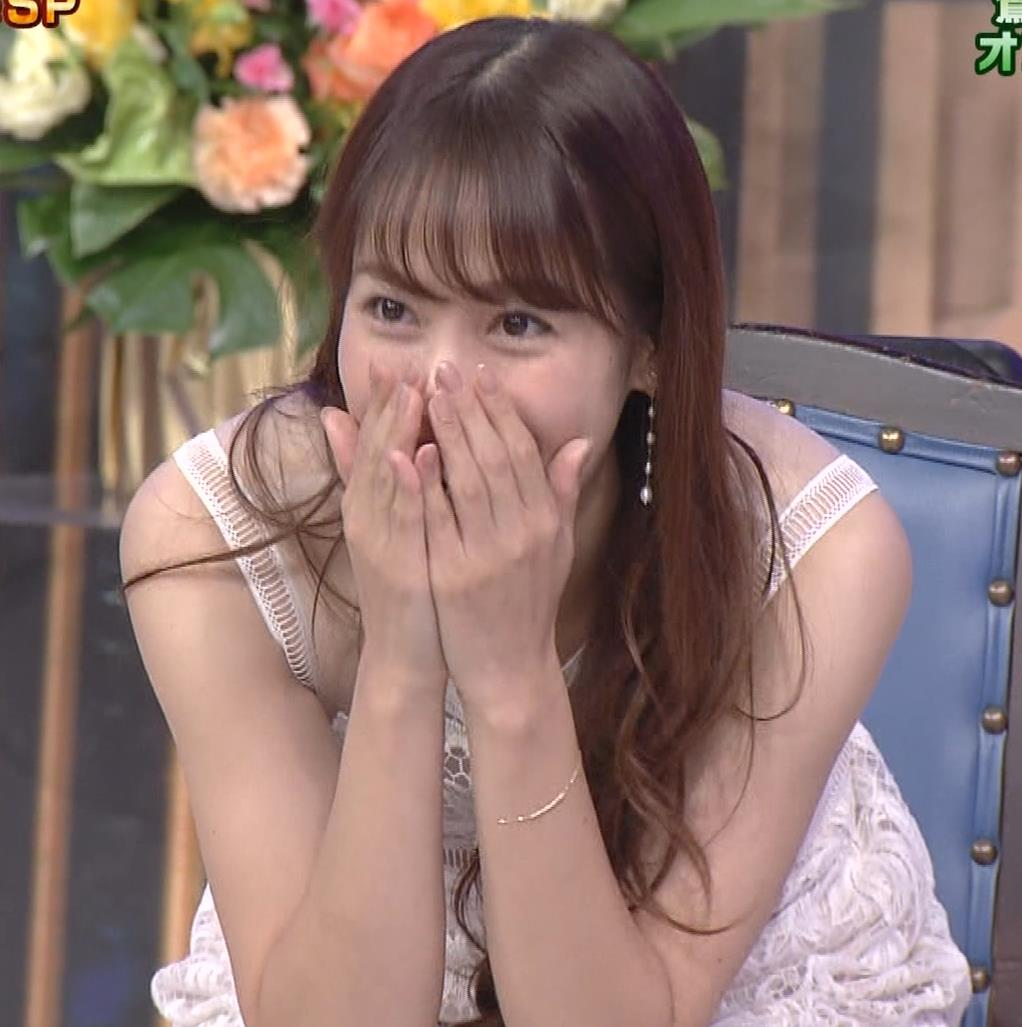 鷲見玲奈 透けワンピースキャプ・エロ画像14