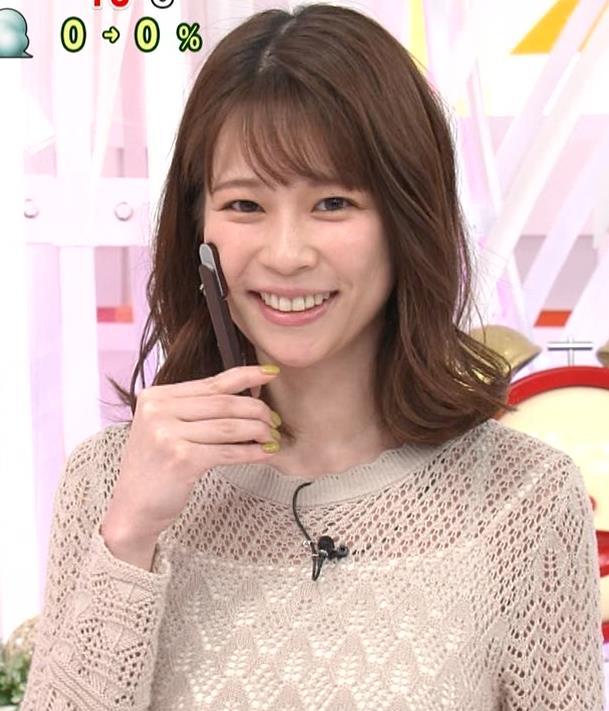鈴木唯アナ くっきり横乳キャプ・エロ画像6