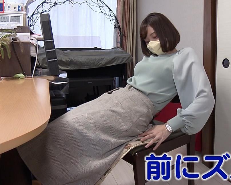 田中瞳アナ 横乳キャプ・エロ画像5