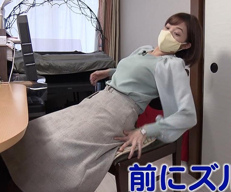 田中瞳アナ 横乳キャプ・エロ画像7