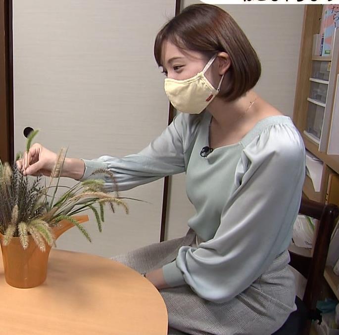田中瞳アナ 横乳キャプ・エロ画像9