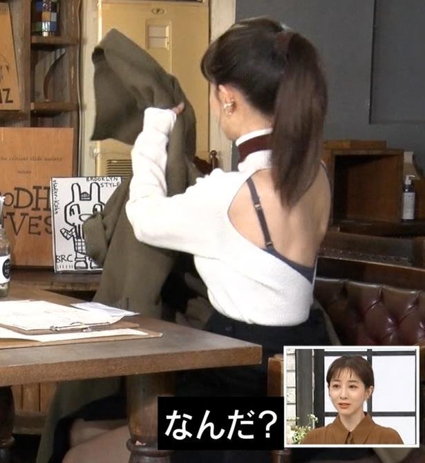 田中みな実 背中エロキャプ・エロ画像2