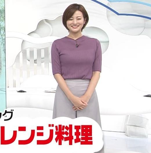 徳島えりかアナ ニットおっぱいキャプ・エロ画像11