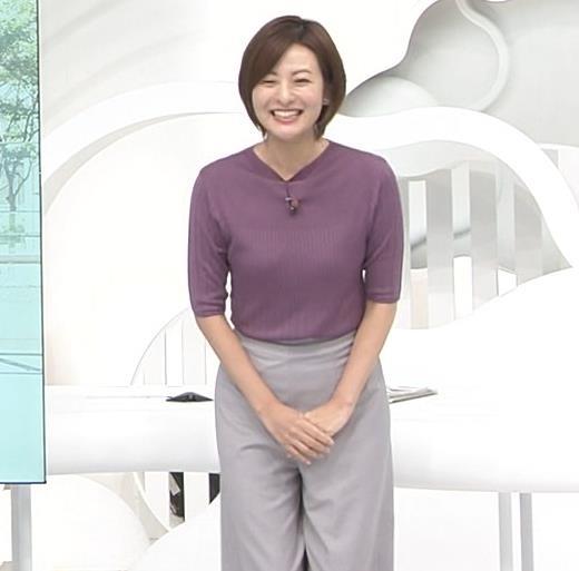 徳島えりかアナ ニットおっぱいキャプ・エロ画像13