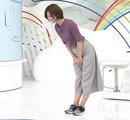 徳島えりかアナ ニットおっぱいキャプ・エロ画像5