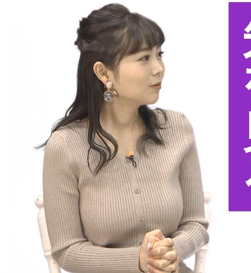 辻満里奈アナ ローカル巨乳アナキャプ・エロ画像2