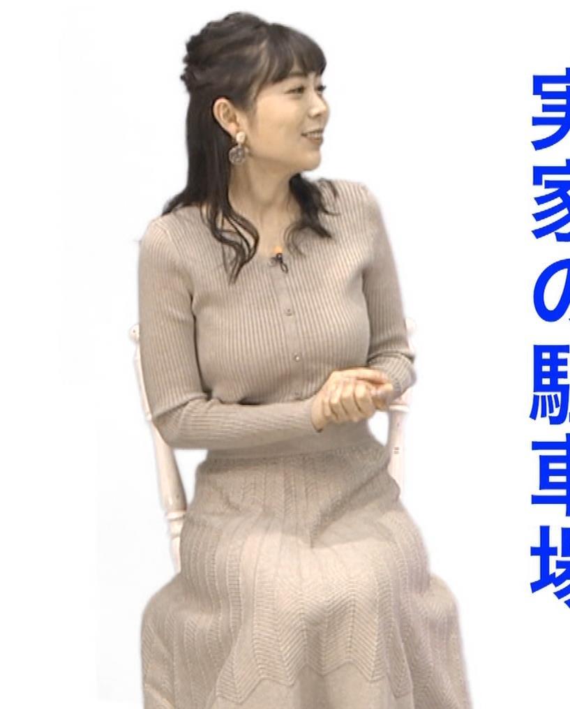 辻満里奈アナ ローカル巨乳アナキャプ・エロ画像5