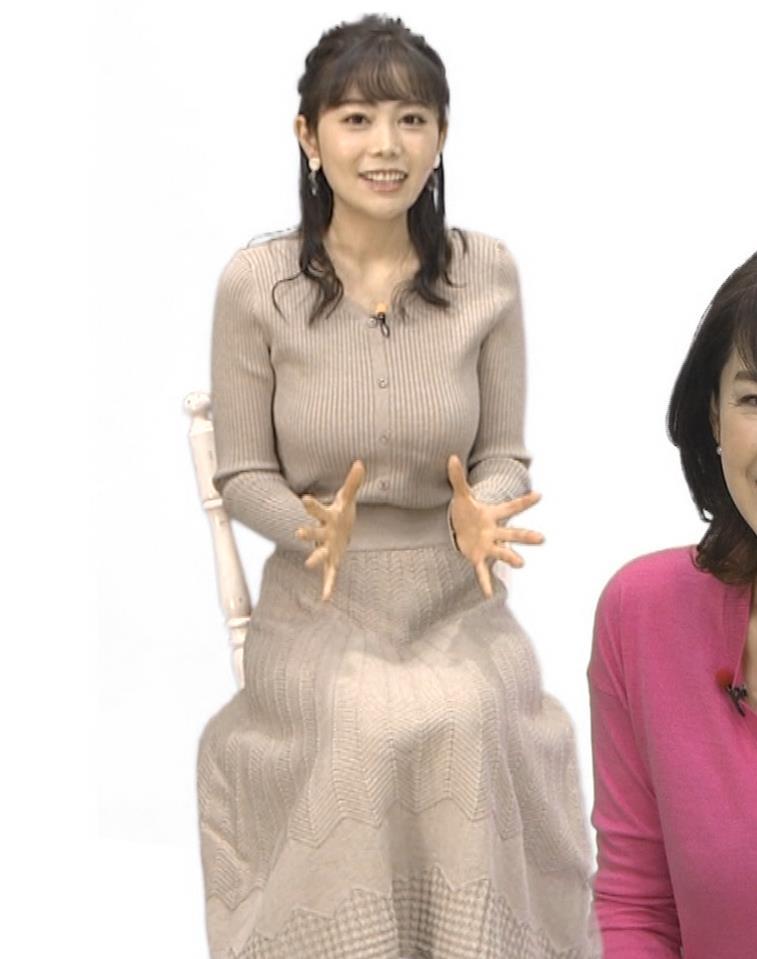 辻満里奈アナ ローカル巨乳アナキャプ・エロ画像7