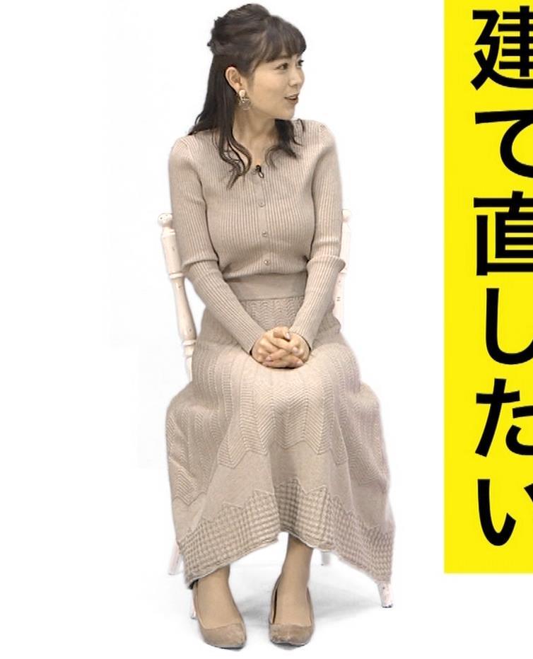 辻満里奈アナ ローカル巨乳アナキャプ・エロ画像8