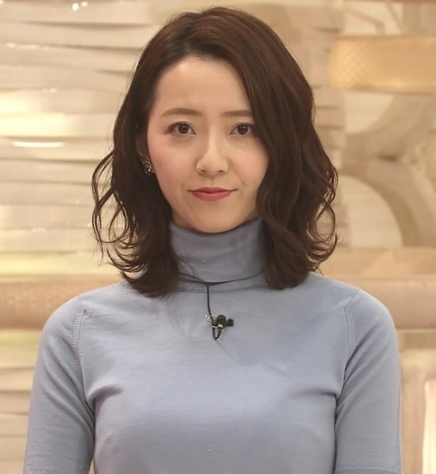 内田嶺衣奈アナ 美人アナのニットおっぱい♡キャプ・エロ画像2