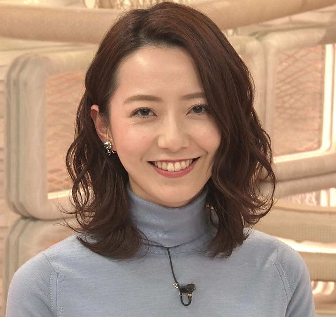 内田嶺衣奈アナ 美人アナのニットおっぱい♡キャプ・エロ画像7