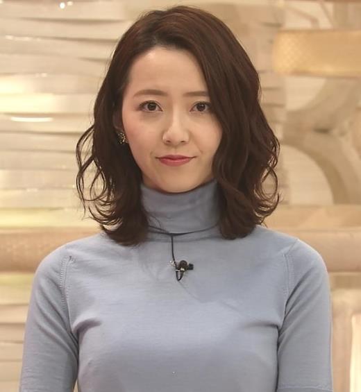 内田嶺衣奈 美人アナのニットおっぱい♡キャプ画像(エロ・アイコラ画像)