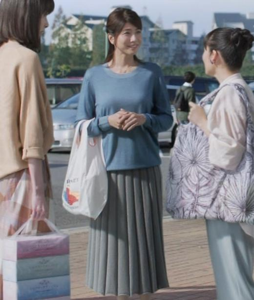 内田有紀 胸のふくらみキャプ・エロ画像