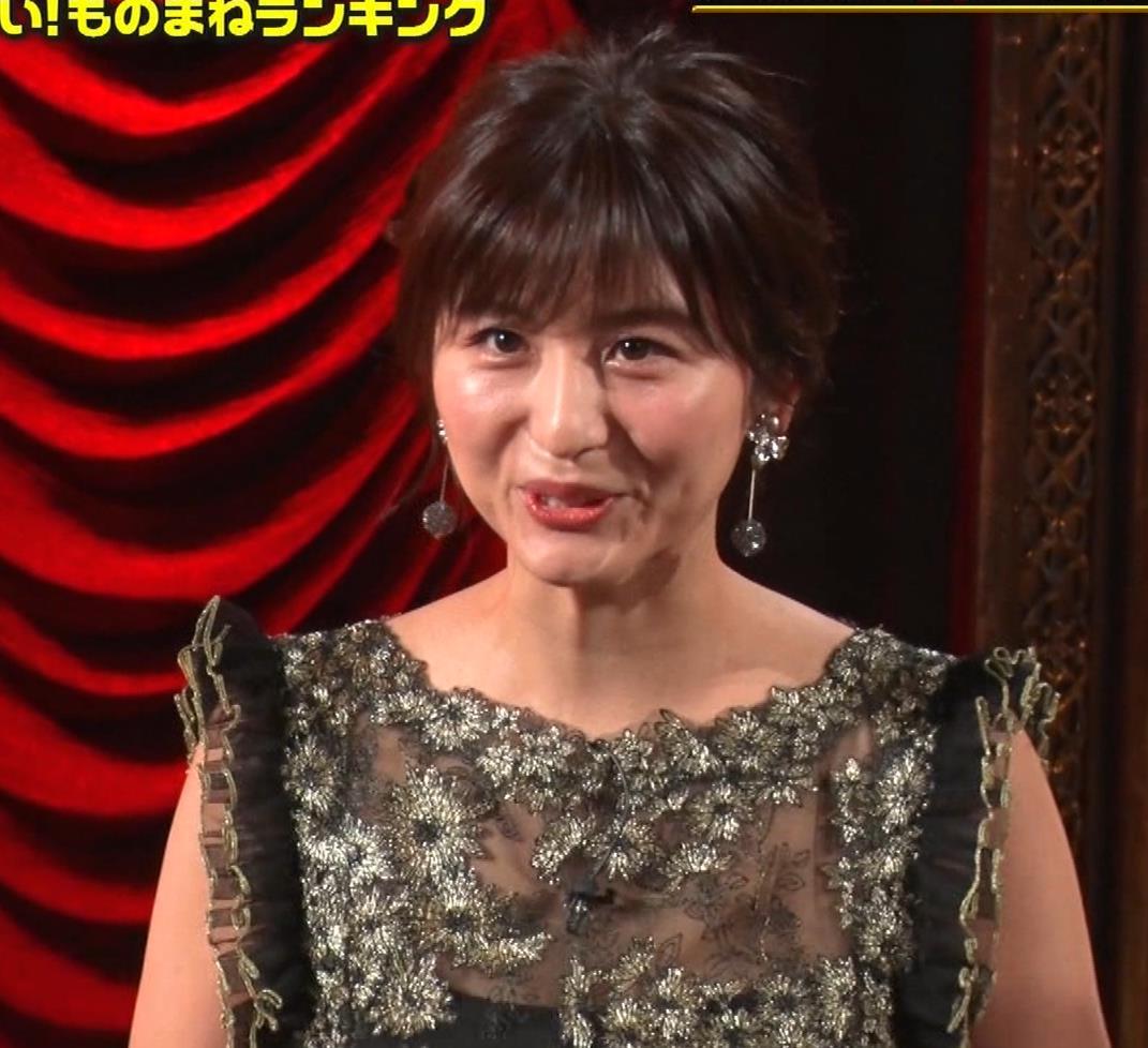 宇賀なつみ 胸元透け衣装&横乳キャプ・エロ画像3