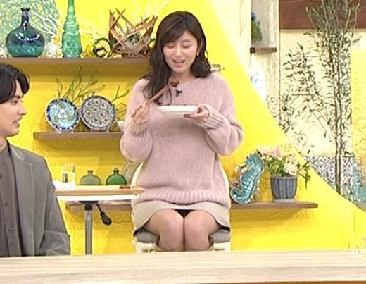 宇賀なつみ パンチラ生放送キャプ・エロ画像11