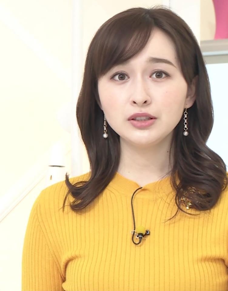 宇賀神メグ ニットおっぱいキャプ・エロ画像