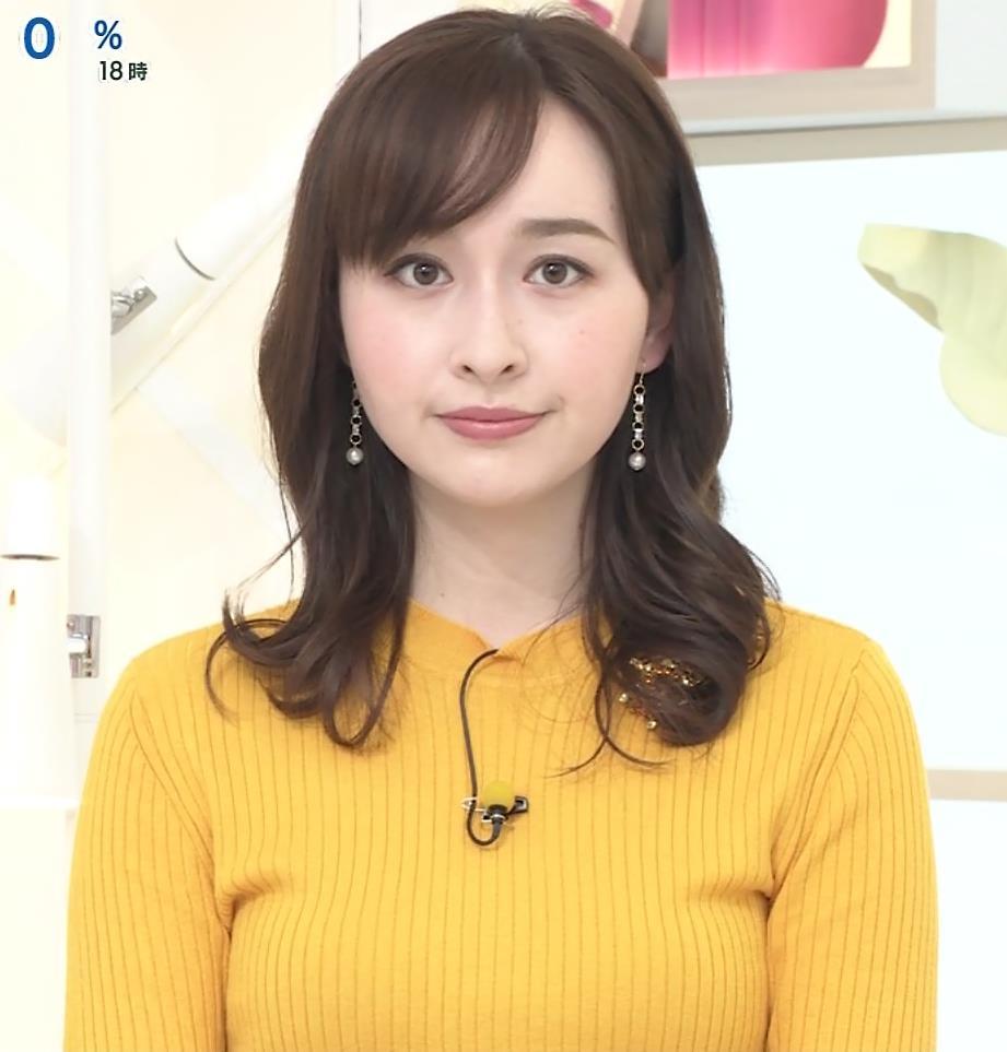 宇賀神メグ ニットおっぱいキャプ・エロ画像4