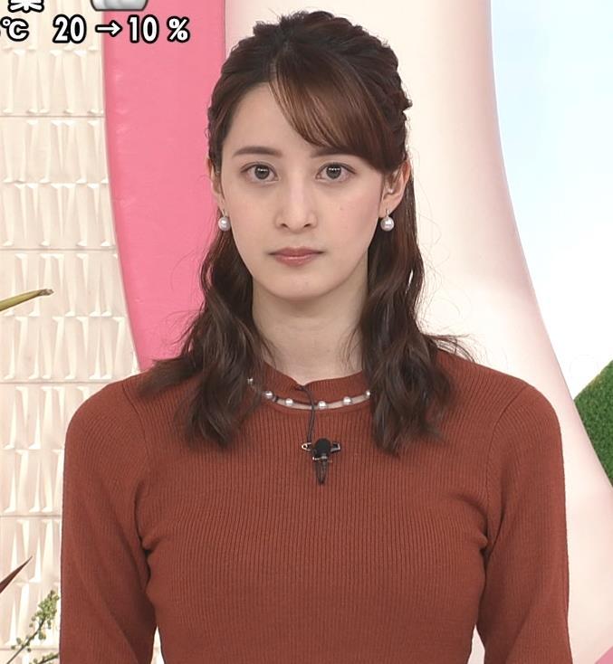 後呂有紗アナ ピチピチなニットキャプ・エロ画像4