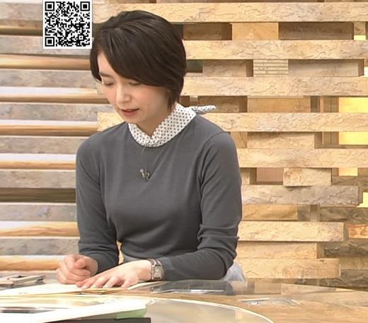 和久田麻由子アナ ショートカット、ちっぱいキャプ・エロ画像2