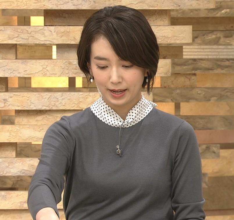 和久田麻由子アナ ショートカット、ちっぱいキャプ・エロ画像3