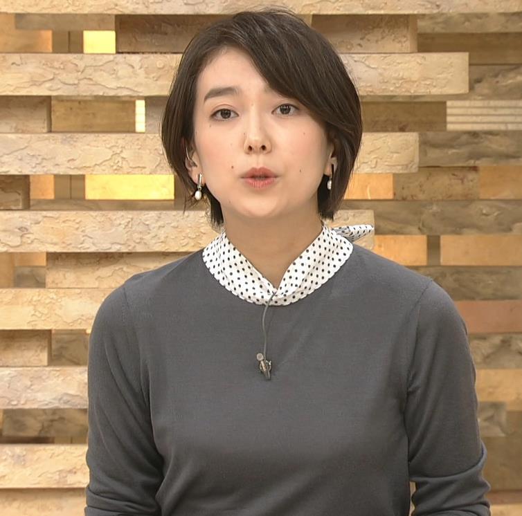和久田麻由子アナ ショートカット、ちっぱいキャプ・エロ画像5