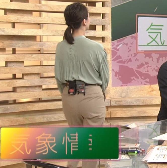 和久田麻由子アナ お尻画像キャプ・エロ画像4