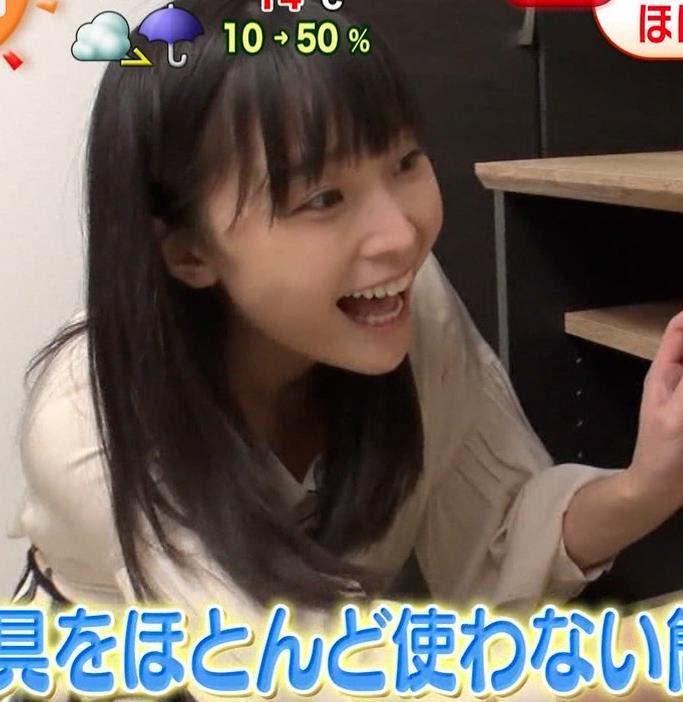 渡邊渚アナ ゆったり衣装でも巨乳だとわかるキャプ・エロ画像4