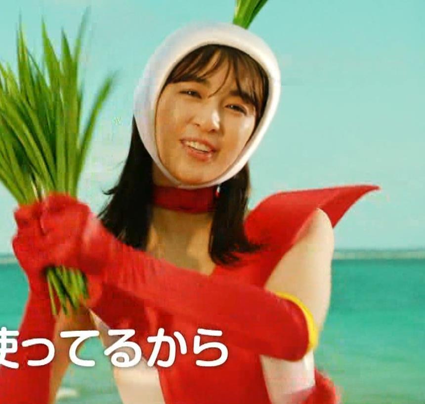 柳ゆり菜 変なコスプレCMキャプ・エロ画像6