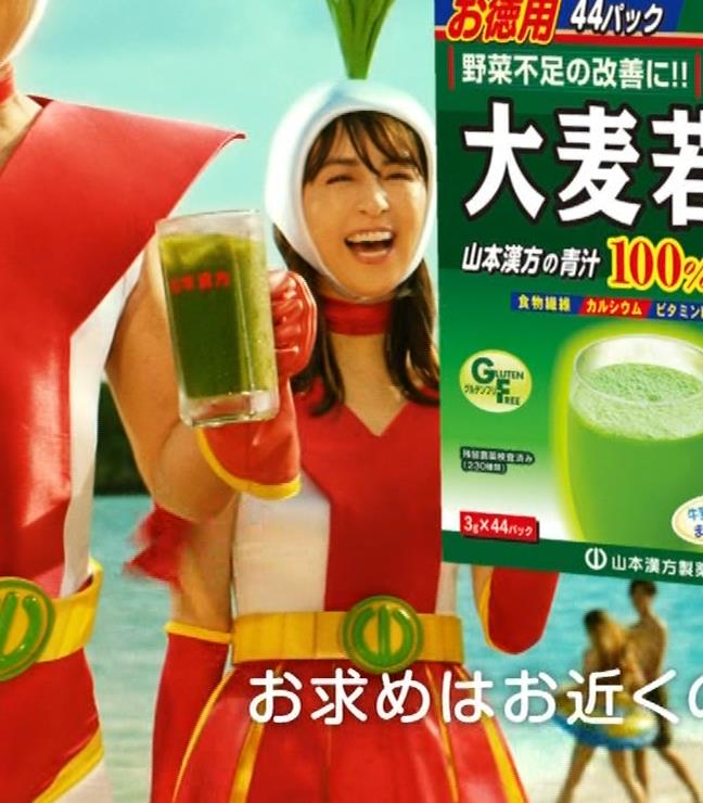 柳ゆり菜 変なコスプレCMキャプ・エロ画像8