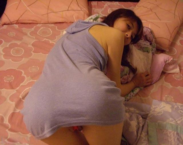 台湾素人美女のプライベートヌード流出画像 4