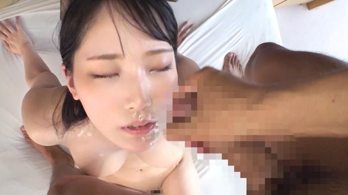 Hカップ美巨乳×パツパツ美尻の20歳美人フリーターのセックス画像 12