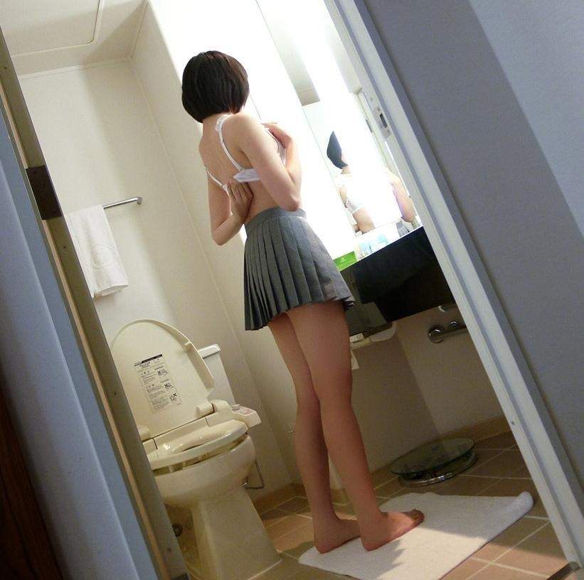 スレンダー美少女JKの拘束セックス画像 12