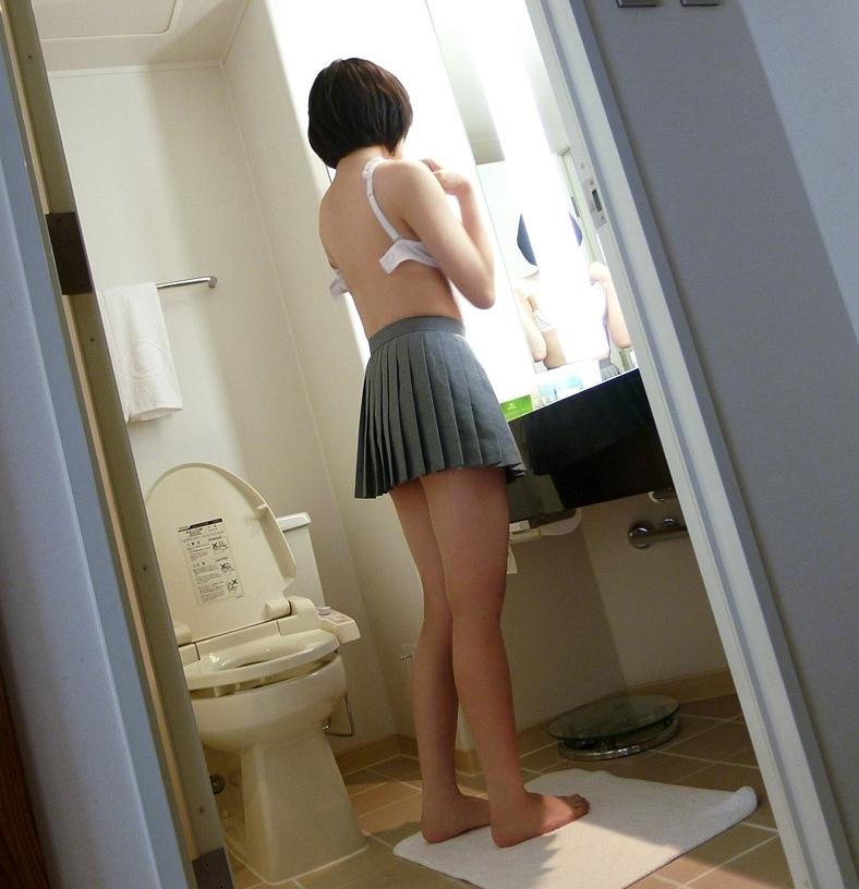 スレンダー美少女JKの拘束セックス画像 13