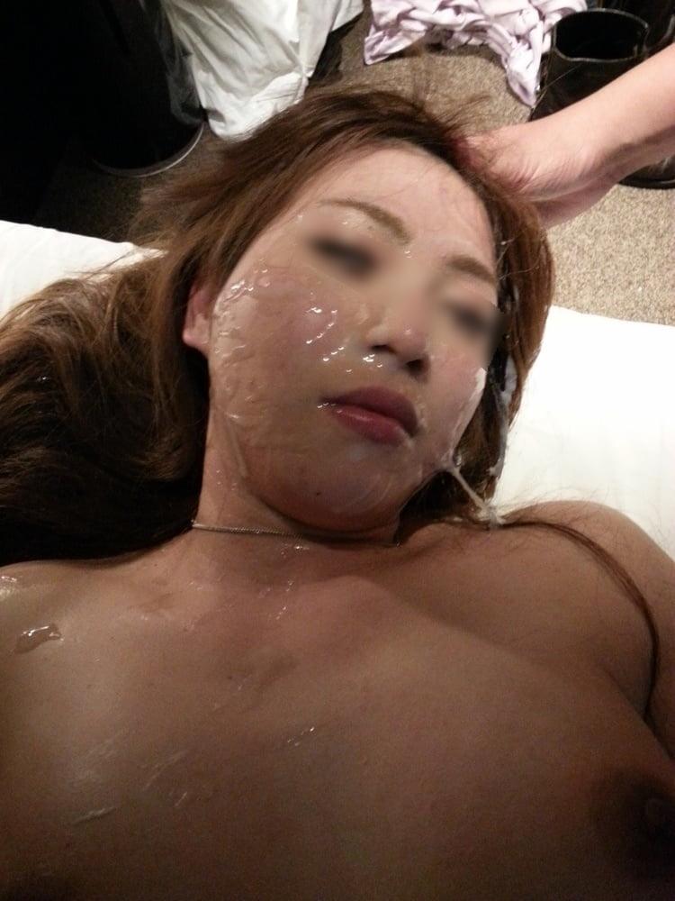 イマドキの美形ギャルに大量顔射してやったセックス画像 16