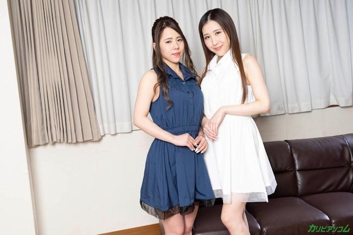 美女2人のレズプレイ画像 1
