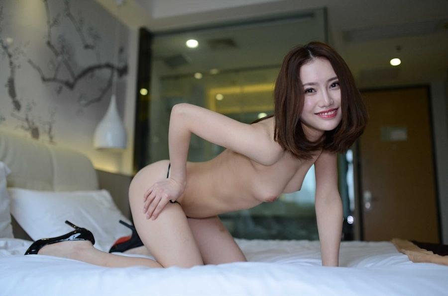 中国美女モデルの個人撮影ヌード画像 4