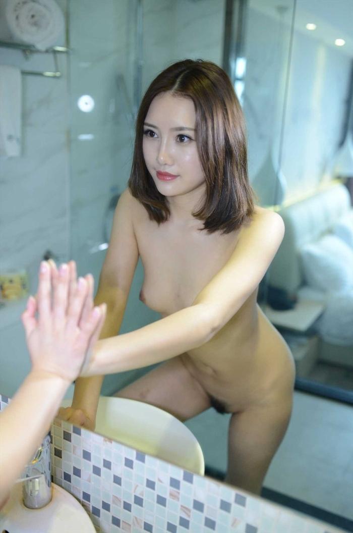 中国美女モデルの個人撮影ヌード画像 5