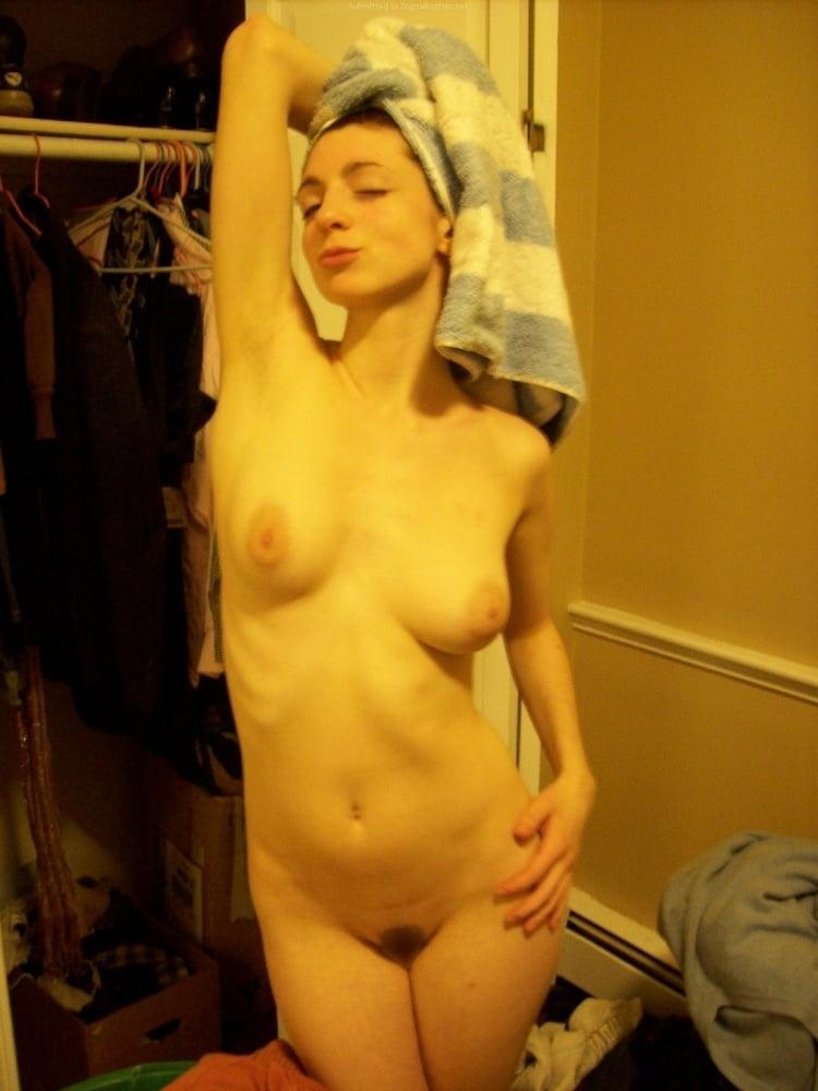 巨乳なガールフレンドのプライベートヌード画像 13