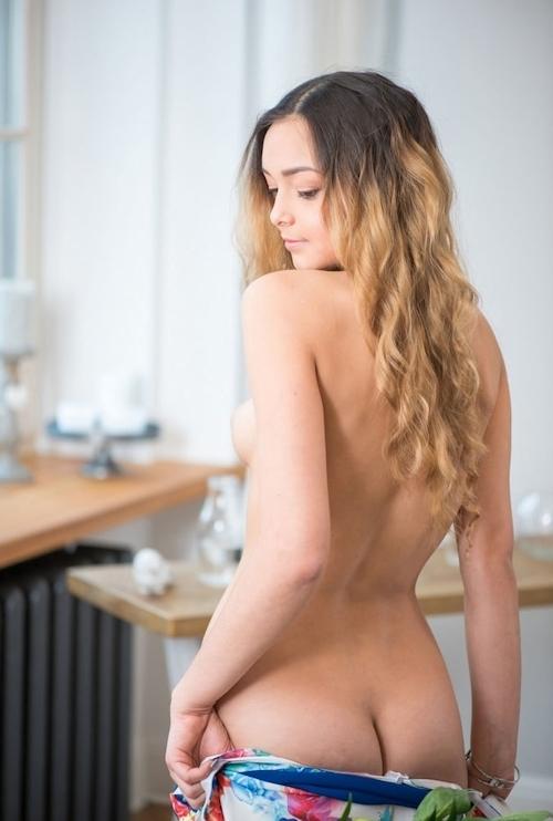 ラトビア美女モデルのヌード画像 5