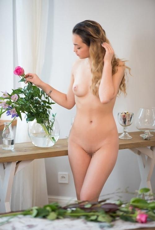 ラトビア美女モデルのヌード画像 11
