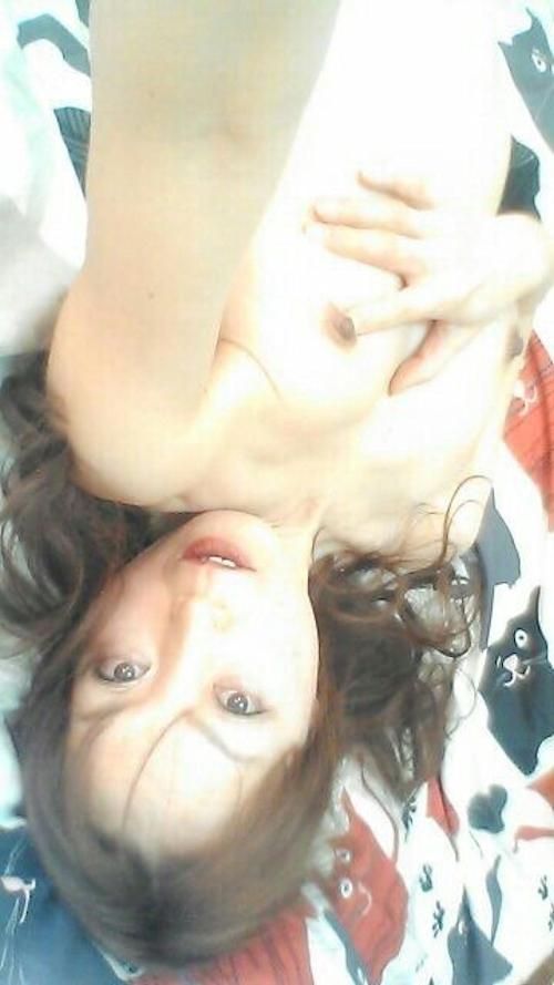 どエロいスレンダーお姉さんのディルドオナニー自分撮り画像 3